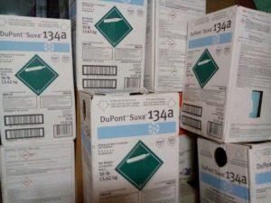 Gas lạnh Dupont 134a hàng Xịn