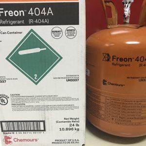 Gas 404A Freon hàng Chuẩn chính Hãng, giá tốt